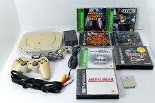 Sony PSOne White Console (SCPH-101) Bundle PS1 Final Fantasy Tactics Metal Gear