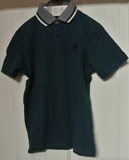 New Boys 100% cotton polo top T-shirt Green age 3 years