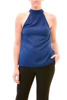 Finders Keepers Amazing Authentic Leandro Top Blue Size S RRP $100 BCF79