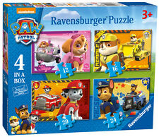 PAW PATROL 4 IN A BOX 12/16/20/24 PIECE RAVENSBURGER JIGSAW PUZZLE