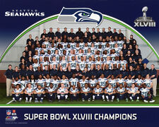 2014 SEATTLE SEAHAWKS CHAMPIONS Glossy 8x10 Photo Super Bowl XLVIII Print Poster