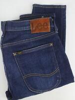 LEE LUKE Men's W32/L32 Stretchy Fade Effect Zip Fly Jeans 24875_JS