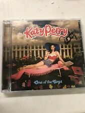 KATY PERRY cd ONE OF THE BOYS #1 hit I KISSED a GIRL waking up vegas HOT N COLD