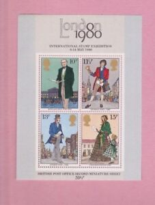 Great Britain, 1979 SG1099, London stamp exhibition, Mint mini sheet