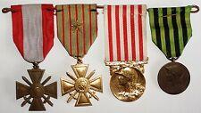 Lot 4 decorazioni militari Francia (1)