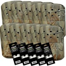 Zippo 10 REALTREE CAMOUFLAGE Hand Warmers 5 Additional Burners 40314 40349 44003