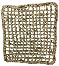 1774 Large Seagrass Mat 14X12 Foraging Bird parrot cage toys cages craft part