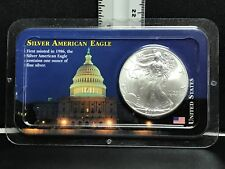 2000 American Silver Eagle Dollar 1oz Fine Silver Unc. in LITTLETON Coin Pack.