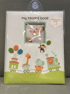 MY BABY FIRST MEMORIES BOOK - LIL PEACH Boys TRAIN - KEEPSAKE RECORD ALBUM