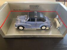 Minichamps 1959 Morris Minor Cabriolet Convertible Blue 1/18 1:18 Diecast Model