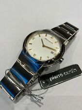 Stunning Pierre Cardin Gents Mens Watch Brand New Stainless Steel RRP over £150