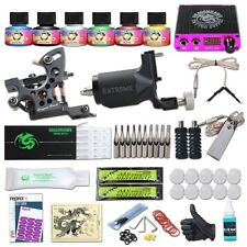Dragonhawk Tattoo Kit Rotary Tattoo Machine Fine Lining Guns Professional Tattoo
