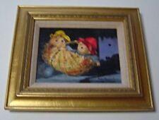 "Yvonne Hartmann Smith ""A Basket of Paddingtons"" Original Signed Oil Painting"