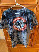 Van Halen Tie Dye 1984 World Tour Concert T-Shirt Men's Size Xl