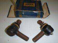 2 LH Thread Steering Tie Rod Ends 1940-1947 Hudson 40 41 42 46 47 MOOG # 104L