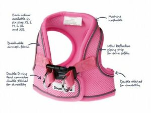 Doodlebone Airmesh Snappy Dog Harness - Easy Fit, Soft and Breathable. 9 Colours