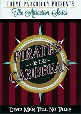 Disneyland PIRATES OF THE CARIBBEAN Documentary DVD with Alan Coats Interview