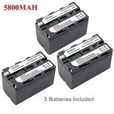 Kastar F770 Battery for Sony HXR-MC2000U,NX5  NEX-EA50UH,FS100U,FS700U,FDR-AX1