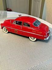Danbury Mint 1949 Fire Chief Mercury 1:24