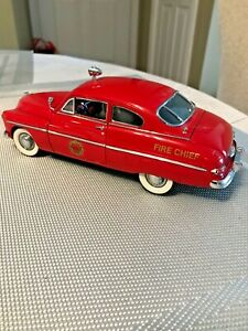 Danbury Mint 1949 Fire Chief Mercury 1:24