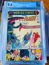 World's Finest Comics #199 CGC 9.6 OW-WP Superman vs. Flash Race