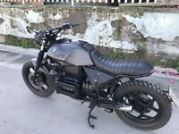 Borsetta Borsa  Fianchetto Laterale Telaio Side Bag Bmw K100/k75 Cafe Racer