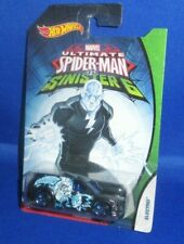 HOT WHEELS ULTIMATE SPIDER-MAN VS SINISTER 6 ELETRO COLLECTOR CAR, NEW
