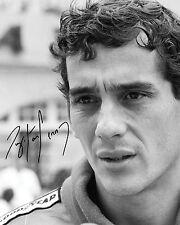 AYRTON Senna #1 - 10X8 Pre Stampati Lab qualità foto stampa