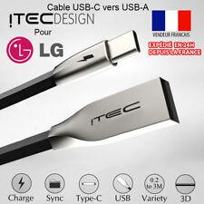 CABLE SYNC CHARGEUR USB-C (TYPE C) 3.1 VERS USB POUR LG G5 LG G6 LG V20 V30