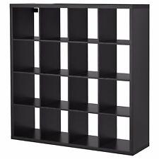 IKEA KALLAX Shelf Unit Book case Black Brown