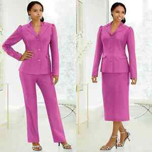 Size 16W Ashro Pink Formal Dinner Wedding Neema 3-Piece Wardrober
