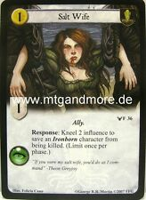 A Game of Thrones LCG - 2x Salt Wife  #036 - Ancient Enemies