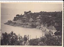 BOLLO DA 6 LIRE SU CARTOLINA DI VARAZZE 1950 3-117