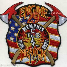 "Memphis  Engine-29 / Truck-19  ""T.C.B."", TN (4"" x 4"" size) fire patch"