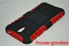Good Protection Red Case Cover Stand For Samsung Galaxy S4 Durable Heavy Duty
