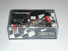 Lewis Hamilton 1;43  Minichamps  Mclaren MP4-21 1st Roll Out Silverstone 2006