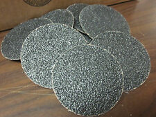 10pc 3 36 Grit Roloc Cookie Discs Silicon Carbide Sanding Disc Roll Lock Type R
