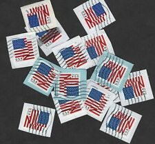 100+ Trifold US Flag Stamps, Forever (50 cent, 2018 Issue)  On Paper