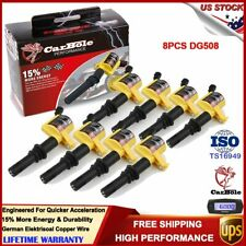 8 Super Ignition Coils Pack for Ford F-150 Expedition 4.6/5.4/6.8L V8 2004-2008