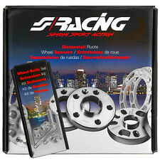 coppia distanziali ruota e bulloni Fiat 4x98 da 16 mm Simoni Racing DR011-FIAT