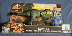 Jurassic world DINO ESCAPE Scorpios Rex