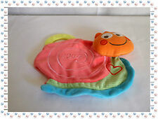 N - Doudou Eveil Dentition Plat Escargot Rose Vert Orange ..Coeur  Chicco