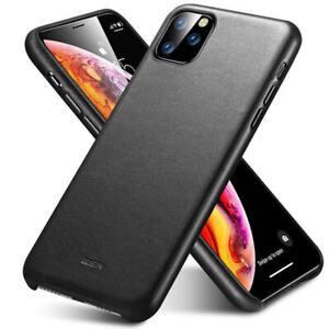 ESR Premium Luxury Metro Leather Case Cover for Apple iPhone 11 Pro Max Black