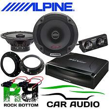 VW T5.1 2010 ALPINE Under Seat Active Subwoofer & 480W Door Upgrade Speaker Kit