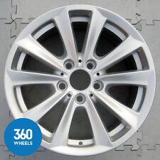 "1 x GENUINE BMW 5 6 SERIES 17"" 8J 10 V SPOKE ALLOY WHEEL 36116780720 F10 F11 F12"