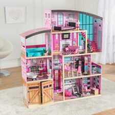 Kidkraft Shimmer Mansion Dollhouse | Wooden Dollhouse | Fits Barbie Sized Dolls