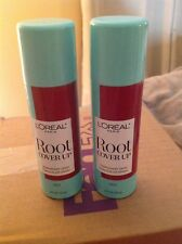 L'Oreal Paris Hair Color Root Cover Up Concealer Spray, RED LOT of 2-2oz Each