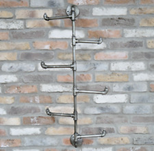 Vintage Metal Coat Hooks Rustic Clothes Coats Hats Storage Industrial Pipe Hooks