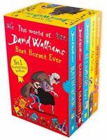 The World Of David Walliams Collection 5 Books Box Set Gangsta Granny, Mr Stink