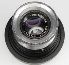 Som Berthiot 105mm f4.5 Hasselblad F mount  #f82507